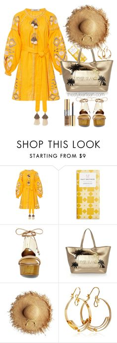 """""""March11 Yellow Kilim Mini Dress"""" by thestyleartisan ❤ liked on Polyvore featuring March11, Steve Madden, River Island, Yves Saint Laurent and Oblik Atelier"""