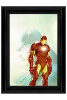 "Fallen Son: The Death of Captain America #5 Custom Framed Limited Edition - 20"" x 27"""