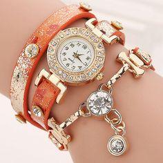 Hot Sell Fashion Women Bracelet Watch Women Wristwatch Casual Luxury Brand Quartz Watch Relogio Feminino Gift 1643