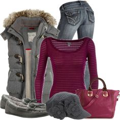 Weekend Wear, created by denise-schmeltzer on Polyvore