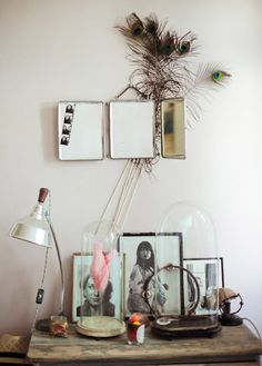 This is beautiful-- I want my dressing table to look like this.