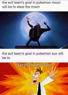 And the teams boss will have a long nose - Funny Pokemon - Funny Pokemon meme - - And the team's boss will have a long nose Pokemon Moon, O Pokemon, Pokemon Memes, Pokemon Funny, Pikachu, Phineas And Ferb Memes, Funny Jokes, Hilarious, Catch Em All