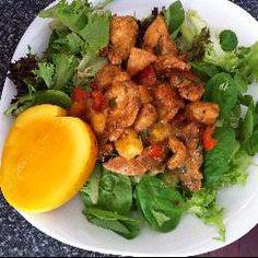 Warm Mango Chicken Salad @ http://allrecipes.com.au