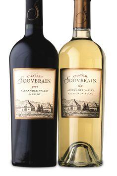 Chateau Souverain  2010                                Cabernet, Merlot and Chardonnay