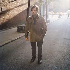 "Another winner from last night's #Oscars who has graced the pages of @tmagazine: Kenneth Lonergan recipient of the Best Original Screenplay award for ""Manchester by the Sea"" (@mbtsthemovie). Photo by @GregoryHalpern for @tmagazine.  via NY TIMES STYLE MAGAZINE OFFICIAL INSTAGRAM - Celebrity  Fashion  Haute Couture  Advertising  Culture  Beauty  Editorial Photography  Magazine Covers  Supermodels  Runway Models"
