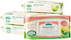 Aleva Naturals Bamboo Baby Sensitive Wipes 432 Count >>> You can get more details by clicking on the image.