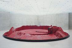 "Exceptional Anish Kapoor on the Museum of Modern Artwork, Sydney Incredible ""My Red Homeland"" is fabric. Lisson Gallery, Art Gallery, Modern Artwork, Contemporary Art, Instalation Art, Anish Kapoor, Illumination Art, Jewish Museum, Nature Illustration"