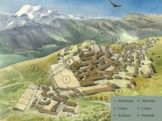 Maucallacta Peru reconstrução Savage Nation, Inca Empire, Mesoamerican, Bronze Age, First Nations, Old World, Native American, Concept Art, Culture