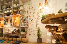 #Raval::http://www.homeonearth.com:::Calle Hospital 76:::Every piece is hand-made using organic sustainable materials