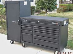 Tool Box Storage, Tool Organization, Garage Storage, Garage Shed, Dream Garage, Garage Atelier, Mobile Workshop, Tool Cart, Mechanic Garage