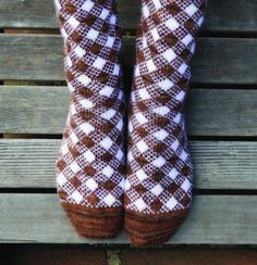 Ravelry: Sanquhar Stockings pattern by Carolyn Vance
