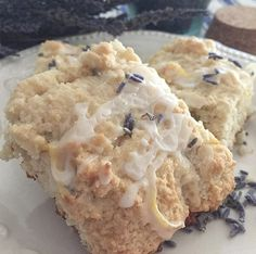 This elegantly sweet Lavender Lemon Scone recipe is made with culinary lavender buds and extract and delicious for tea, breakfast or snack. Lavender Scones, Lavender Shortbread, Lavender Buds, Lemon Pancakes, Lemon Scones, Sweet Desserts, Dessert Recipes, Lavender Recipes, Culinary Lavender