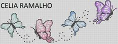 Oieeee!!!  Que Deus abençoe muitttooooo a todas vocês que me visitam... Obrigada pelo carinho!!! Fiz o nome Anna Izabel pra querida Suzze, c... Cross Stitch For Kids, Cross Stitch Heart, Cross Stitch Borders, Modern Cross Stitch Patterns, Cross Stitch Designs, Cross Stitching, Cross Stitch Embroidery, Butterfly Cross Stitch, Cross Stitch Flowers