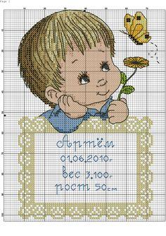 Natalicio. Punto de cruz. Cross Stitch Boards, Cross Stitch Bookmarks, Cross Stitch Art, Cross Stitch Embroidery, Baby Cross Stitch Patterns, Cross Stitch Designs, Baby Patterns, Dimensions Cross Stitch, Blackwork Patterns