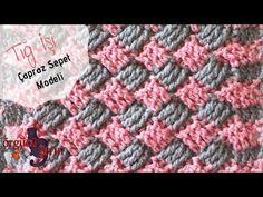 Tığ İşi Çapraz Sepet Modeli / Örgü Modelleri - YouTube Moda Emo, Nike Free, Diy And Crafts, Piercings, Blanket, Summer Dresses, Crochet, Womens Fashion, Fashion Design
