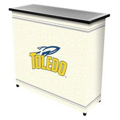 Trademark Global NCAA Logo 2 Shelf Steel Portable Bar with Case - CLC8000-UTDO