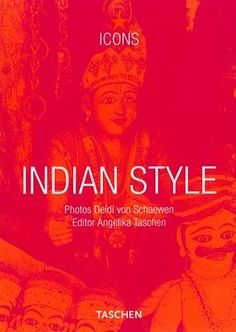 Indian style #(icons #series), taschen, #angelika paperback book,  View more on the LINK: http://www.zeppy.io/product/gb/2/391294678461/