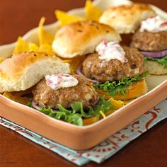 Make-Ahead Meals For Easy Family Dinners: Thursday: Southwestern Burgers (via Parents.com)