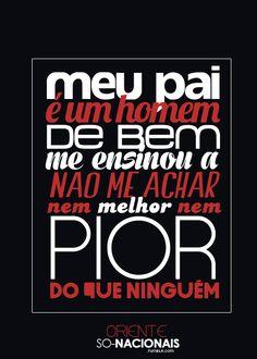 Se você acha que a música brasileira não presta, é porque não soube procurar direito. Love You, My Love, Music Is Life, Quotations, Hip Hop, Lyrics, Songs, Lettering, Quotes