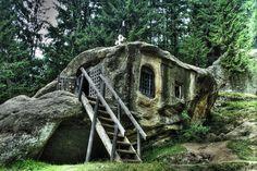 Stone House By Askjell