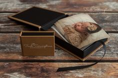 USB box plus full set of prints in a leatherette print box - Prints Products packages Newborn Photography