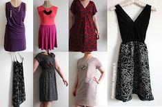 Joku aika sitten ajattelin tekeväni vaatetutoriaalin pitkästä aikaa. Mekkoa toivottiin ja siitä se sitten lähti. Ei yksi mekko, vaan kokon...