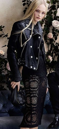 Lace & Leather, Burberry S/S2014 campaign