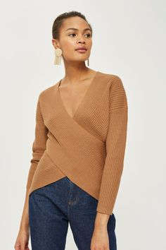 Wrap Top With Cashmere