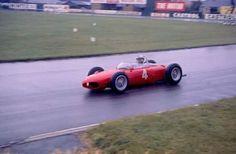 1961 British Grand Prix, Aintree Racecourse : Wolfgang von Trips, Ferrari 156 #4, Scuderia Ferrari, Winner. (ph: Flickr)
