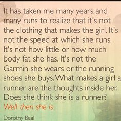 Photo by @Dorothy Todd Todd Todd Todd Beal #running #quotes #inspiration #irunthisbody