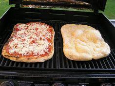 Homemade Pizza Dough - I double the recipe, and I do use the Traeger