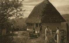 FOTO Satul românesc în toată splendoarea. Fotoreportaj de excepţie în alb-negru realizat acum 85 de ani