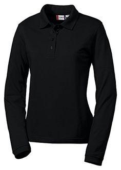 Clique Women's Long Sleeve Elmira Polo Shirt - http://www.darrenblogs.com/2016/11/clique-womens-long-sleeve-elmira-polo-shirt/