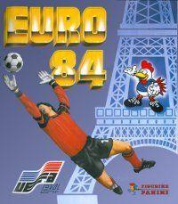 Panini Euro 84 Album Cover