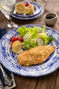Juicy, tender, and crispy baked chicken katsu recipe. Here, chicken breast is coated in toasted panko and baked in the oven until golden brown. Baked Chicken Katsu Recipe, Crispy Baked Chicken, Fried Chicken, Asian Chicken Recipes, Asian Recipes, Healthy Recipes, Asian Foods, Diabetic Recipes, Healthy Meals