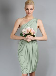 #fashion #australia #melbourne #fashionstore -   Sweet one shoulder dress with draping and pleated detailing. A perfect short bridesmaid dress. Silky stretch jersey material provides an easy fit. No zips, just pull over. Model is a size 8 wearing a s