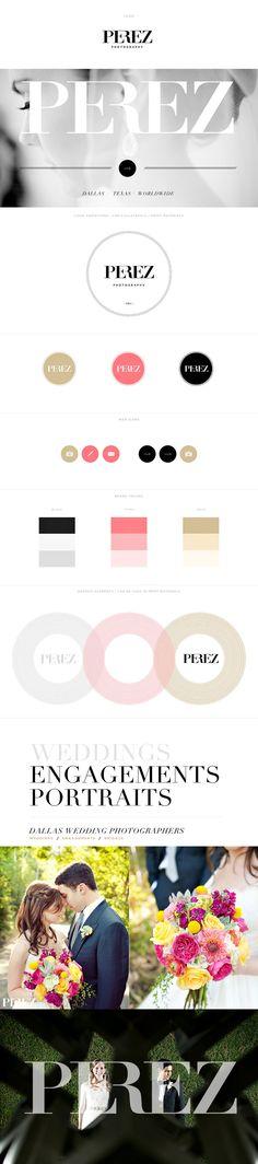 Perez Photography Branding www.perezweddings.com