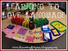 Discovery Kidzone Montessori Adventures: Montessori Monday Lovin Language!