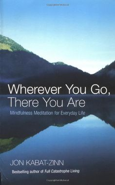Wherever You Go, There You Are: Mindfulness meditation for everyday life by Jon Kabat-Zinn http://www.amazon.co.uk/dp/0749925485/ref=cm_sw_r_pi_dp_BuI2tb03B9BTWEC5