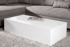 Blok salontafel monoblock Innovation Living, Center Table, Diy Interior, Minimalist Decor, Retro Design, Apartment Therapy, Ottoman, New Homes, Lounge