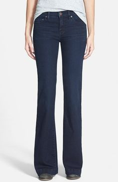 Free+People+'Gummy'+Mid+Rise+Flare+Jeans+(Morrisey)+available+at+#Nordstrom