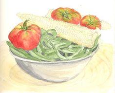 Sketching in Nature: Garden Bounty - Maria Hodkins