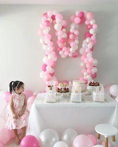 Bunny Bash 2017 on Happy Birthday B, Bunny Birthday Cake, Easter Birthday Party, First Birthday Themes, Baby Girl First Birthday, Birthday Decorations, Birthday Ideas, 2nd Birthday, Bunny Party