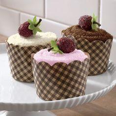 WANT: Sweet Treat Cupcakes Towel Set of 3