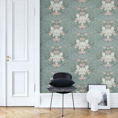 "Wallpaper ""Siri"" by Sandberg Wallpaper, collection ""Flora Sandbergica"""