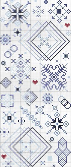 I Heart Snowflakes ~ Gentle Art Threads II; this lady's freebie patterns are fabulous.  This one has been downloaded to PDF as are several others.  Once you get used to navigating her freebies menu, it's simple to get a pattern in PDF downloaded.