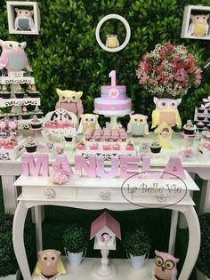 La Belle Vie Eventos: Festa Coruja da Manuela