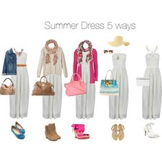 Summer Dress 5 ways