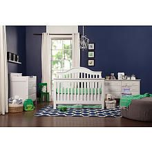 DaVinci Jayden 4-in-1 Convertible Crib with Toddler Rail - White (280) converts to all bed sizes