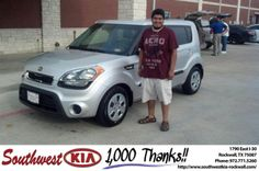 #HappyAnniversary to Daniel  Deleon on your 2013 #Kia #Soul from Russell Paulov at Southwest KIA Rockwall!